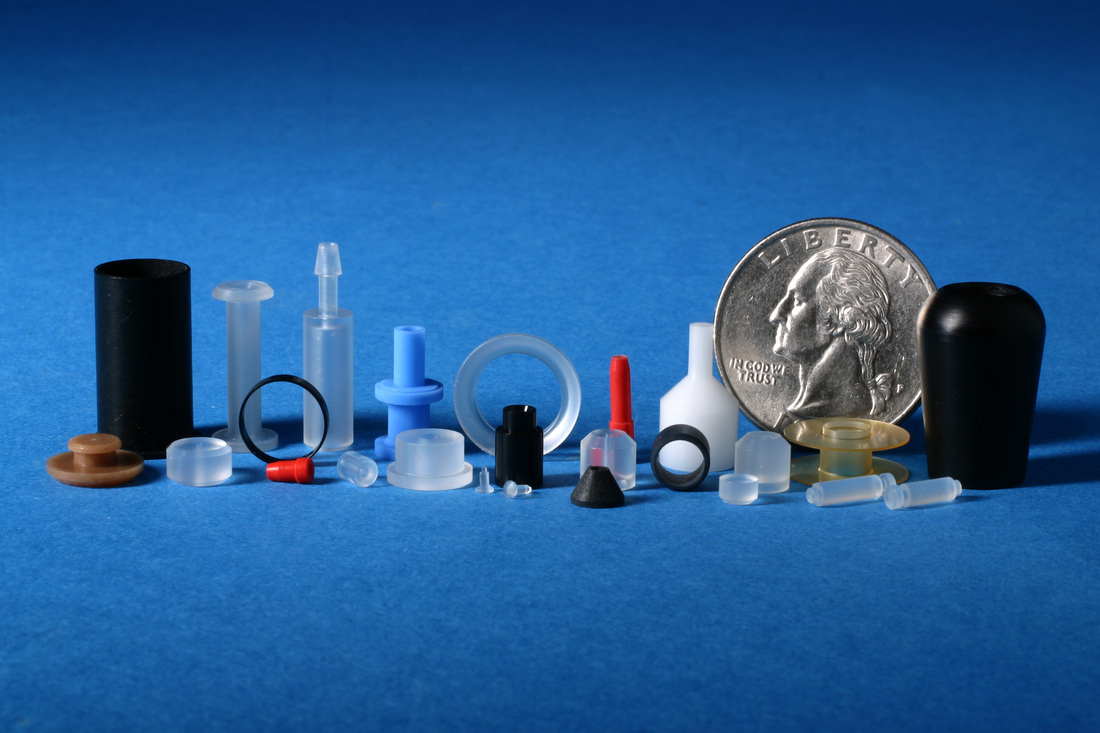 Colored PTFE and other High Performance Plastic Parts